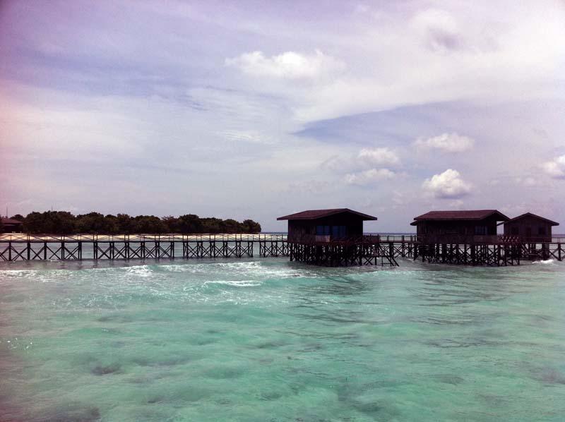 Pom Pom Island Water Villa